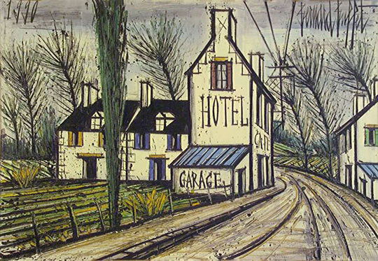 Bernard Buffet Paintings Group Picture Image Tag