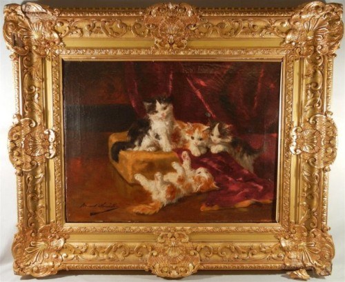 Bernard Neuville French Oil Painting Lot