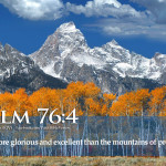 Bible Verse Power God Psalm Mountain Tohh
