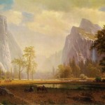 Bierstadt Painting Scan Image The Public Domain Believed