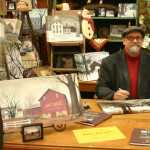 Billy Jacobs Folk Artist Signing Prints Life Ohio Amish Country