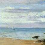 Blue And Silver Trouville James Mcneill Whistler Wikipaintings