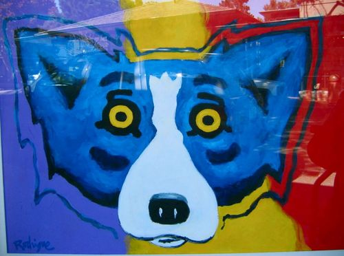 Blue Dog Art George Rodrigue Artsysf Buzznet