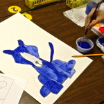 Blue Dog Art Lesson Create