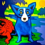 Blue Dogs And Cajuns The River Painting Print Exhibition