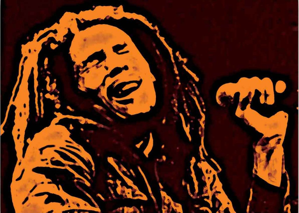 Bob Marley Canvas Painting Iconic Art