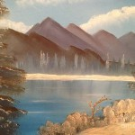 Bob Ross Chilly Mountain Lake Paintings For Sale From