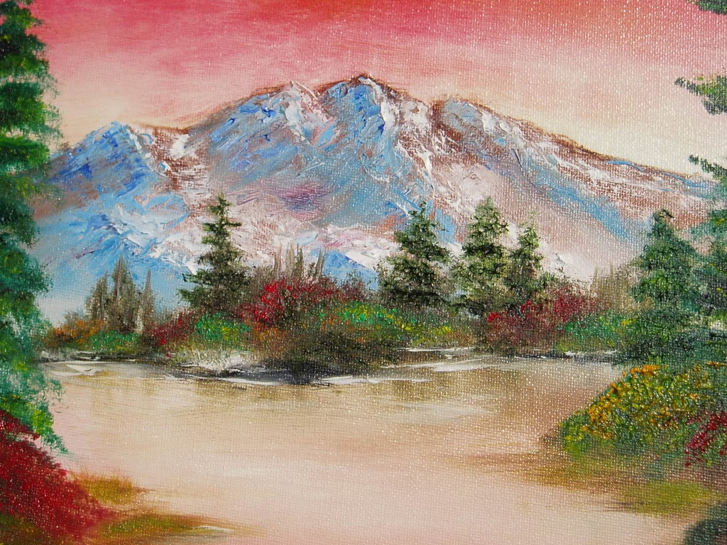 Bob Ross Original Oil Paintings For Sale