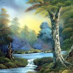 Bob Ross Paintings Beautiful Art Design