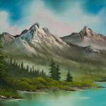 Bob Ross Peaceful Pines Paintings For Sale From Paintingsforsale
