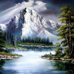 Bob Ross Sun After Rain Paintings For Sale Bobross