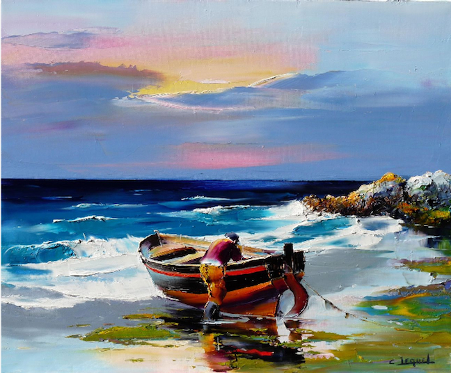 Breathtaking Oil Paintings Christian Jequel Total Modern