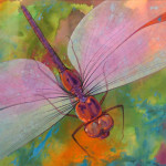 Brian Day Dragonfly Original Painting