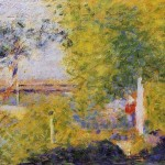 Bridge Georges Seurat China Oil Painting Gallery