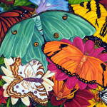 Brilliant Butterflies Butterfly Paintings This Painting Benefits The