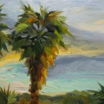 Brown Fine Art Book Discount Large Palm Tree Painting Tom