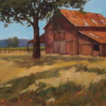 Bruce Katz Oil Paintings Old Barn