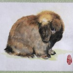 Bunny Paintings For Auction Hlrsc National Simon Chan Art
