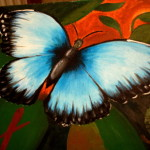 Butterfly Oil Paintings For Web Search