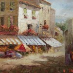 Buy Paris Street Oil Painting From Reliable