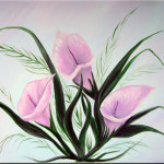 Calla Lily Painting