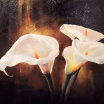 Calla Lily Paintings And Art Artist Rising The