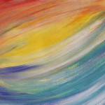 Canvas Abstract Paintings Color Field Painting