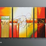 Canvas Art Oil Painting Hall Decoration Cheap Abstract