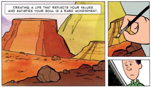 Cartoonist Remarkable Advice How What You Love