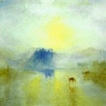 Castle Sunrise Turner Wholesale China Oil Painting Frame