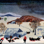 Catching The Thanksgiving Turkey Grandma Moses Wikipaintings