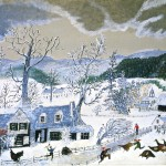 Catching The Turkey Grandma Moses Wikipaintings