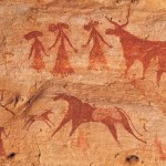 Chad Ancient Chadian Cave Paintings Encyclopedia Ren