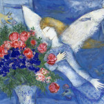 Chagall Blue Angel Painting Granger Fine Art