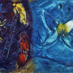 Chagall Jacobs Dream Painting Fine Art