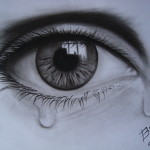 Charcoal Paintings Art Gallery For Sale The Teary Eye