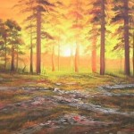 Cheap Discount Trees Oil Paintings For Sale