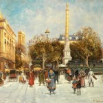 Cheap Famous Cities Oil Paintings For Sale