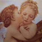 Cherub Angel Painting