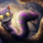 Cheshire Cat Illustrations Moviescoolvibe Digital Art