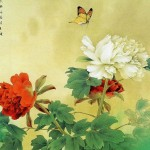 Chinese Art Covering Flowers And Nature Design