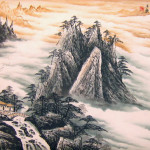 Chinese Landscape Paintings The Yellow Mountain Sea Clouds