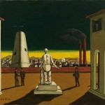 Chirico Inspired Look Centered Around The Archway Location And