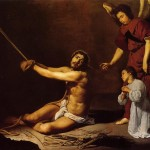 Christ After The Flagellation Contemplated Christian Soul