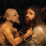 Christ Carrying The Cross Titian Wikipaintings