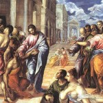 Christ Healing The Blind Greco Oil Painting Reproduction