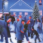 Christmas Eve Archibald Motley Oil Painting Reproduction