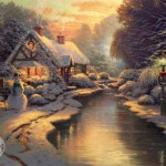 Christmas Evening Paintings For Sale Paintingsforsalediscount