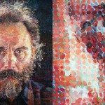 Chuck Close Portrait Art
