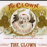 Cigarlabelblog Wordpress Famous Labels The Clown